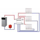 Схемы отопления частного дома - однотрубная, двухтрубная, лучевая